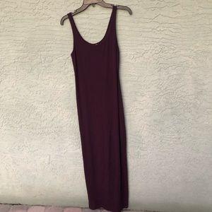 Express small maxi dress